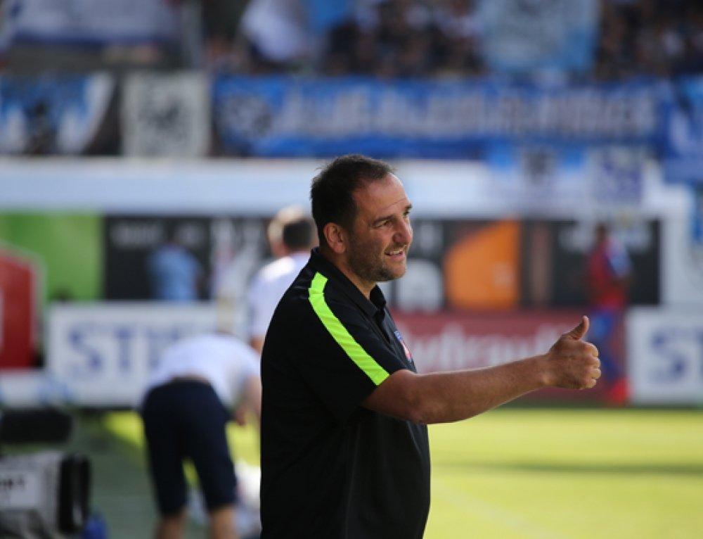 Interview mit FCH Cheftrainer Frank Schmidt