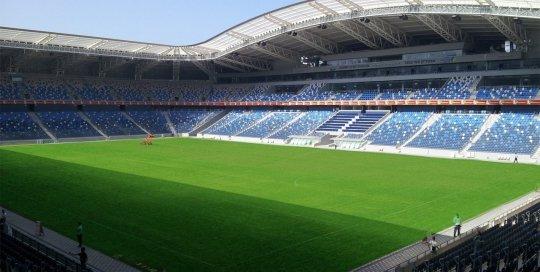 SIS Grass Sammy Ofer Stadion