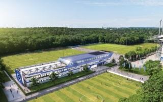 Visualisierung HSV-Campus Vogelperspektive