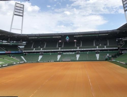 Neuer Rasen für Werders Center Court